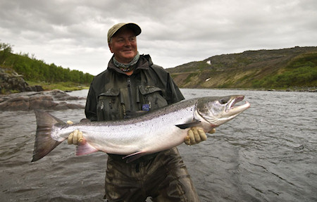 Vladimir Rybalchenko's Address to the Friends of the Atlantic Salmon Reserve 2011