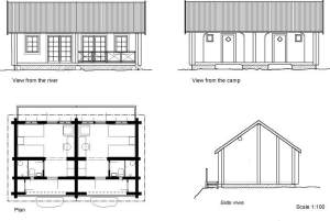 Click here for more detailed diagrams of the new cabins