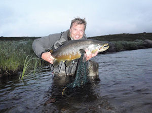 Trout report week 3b July 10th - 17th, 2010 Bush Pool Litza and Dream Pool Kharlovka - click on image to enlarge