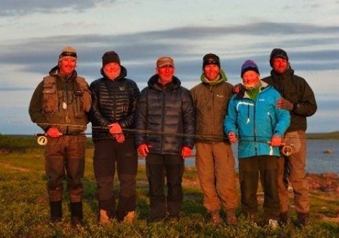 Group members from left Morten, Edvard, Kai, Pål (group leader), Arne and Cato