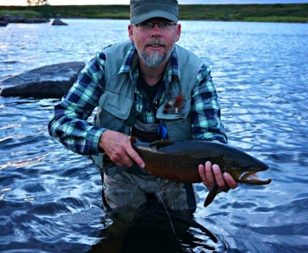 Another great Kola trout caught by Ingebrigt
