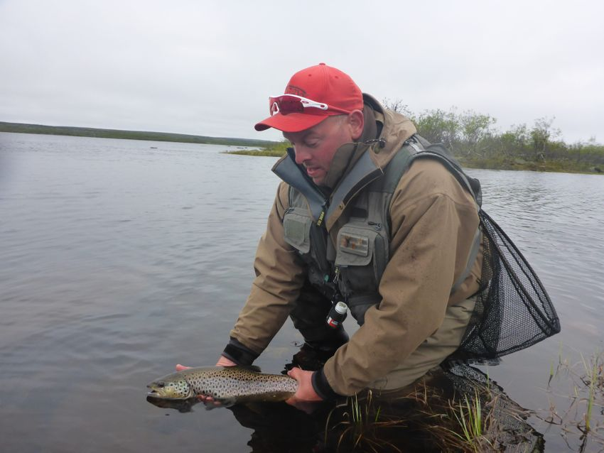 Trout fishing report week 27a 2014 salmon fishing in for Current fishing report