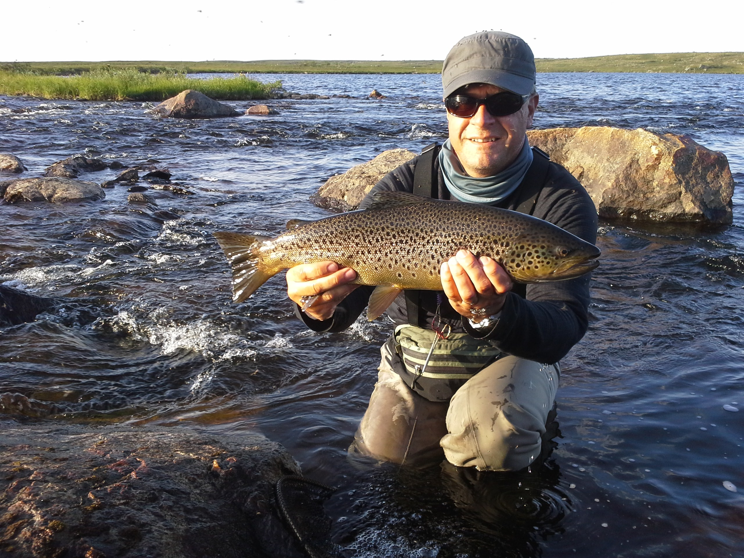 Trout fishing report week 30b 2014 salmon fishing in for Trouts fishing report